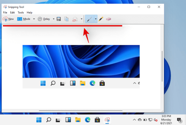 """New Design for """"Snip & Sketch"""" App & a Powerful Screen Capture Tool Called """"Screen Sketch"""" Windows 11"""