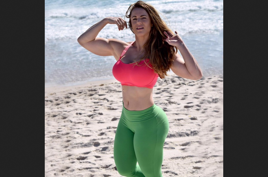 Linda Durbesson, women with Muscle, Biography