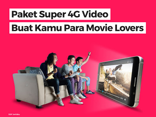 paket smartfren 4g video