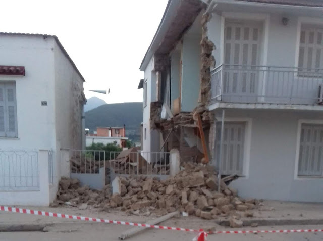 Κατέρρευσε οικία στη Νεμέα