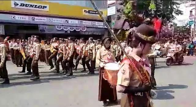 Sambut Hari Pramuka, Adakan Atraksi Drumben