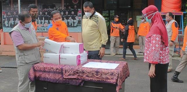 Pemkab Semarang Terima 5.000 Alat Rapid Tes Antigen dari BNPB