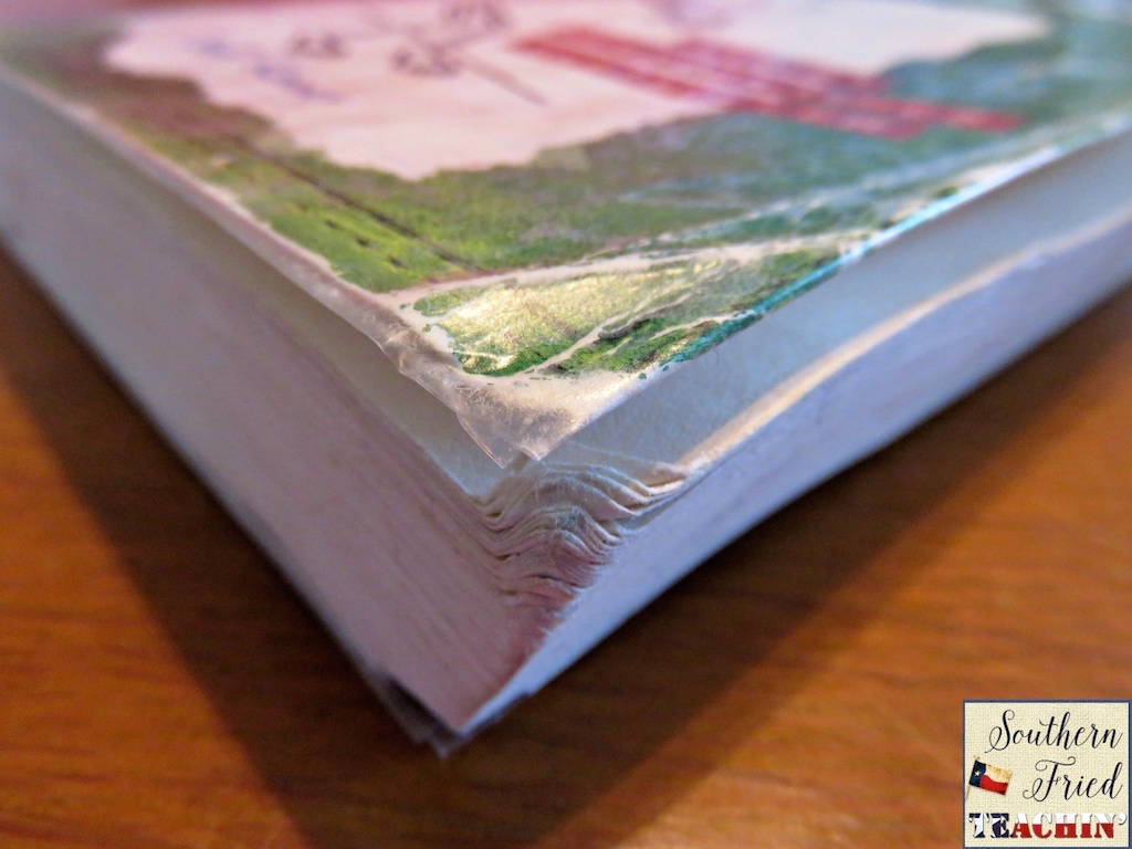 Repair Old Book Cover ~ Southern fried teachin diy book repair toolkit