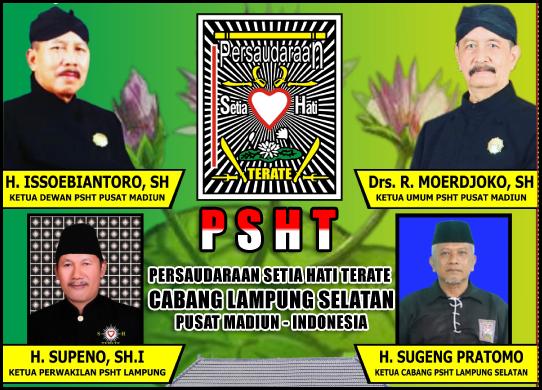 Sugeng Praptomo (Ketua Cabang PSHT Lampung Selatan)