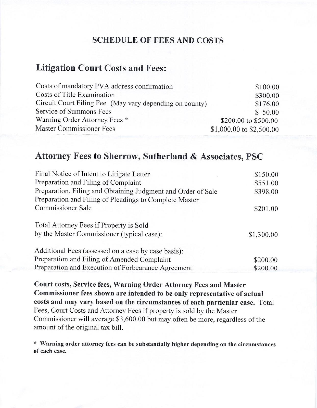 KENTUCKY KY Tax Lien Cetificate Tax Sale Guide