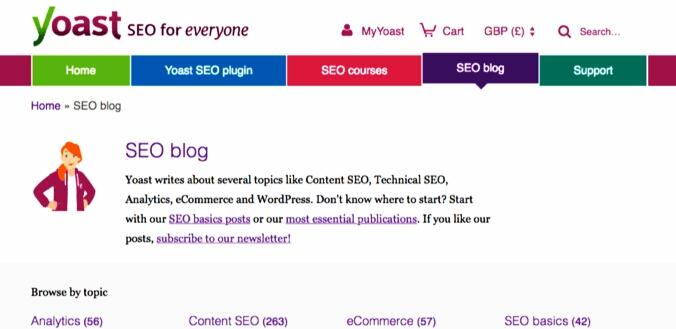 Yoast SEO Blog