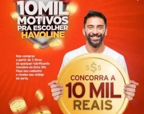 Cadastrar Nova Promoção Texaco 10 Mil Reais - Havoline Óleos