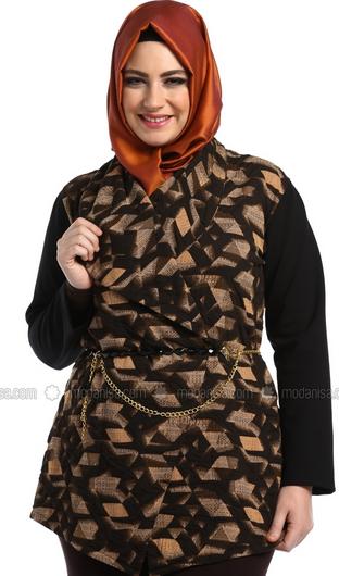 Baju Batik Muslim Kerja untuk Orang Gemuk