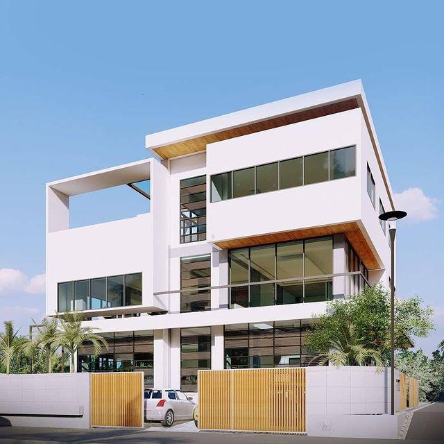 desain rumah full bangunan