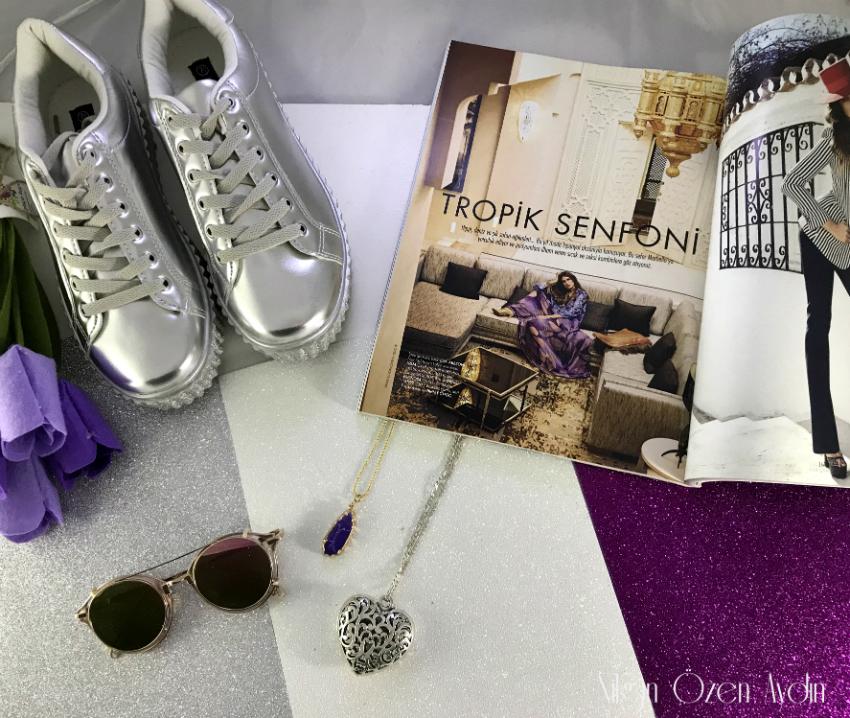 Metalik Ayakkabılar - Amiclubwear