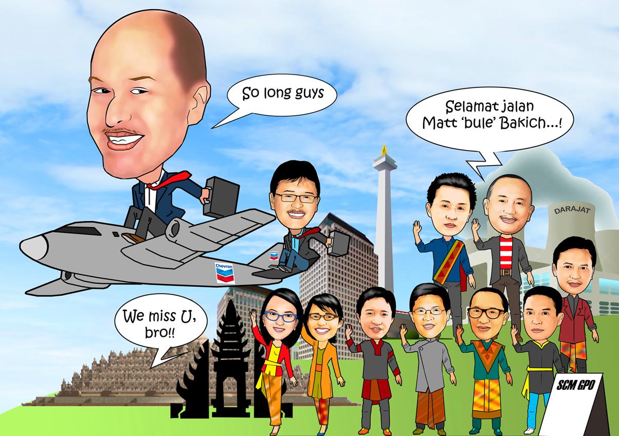 PESAN KARIKATUR MURAH Karikatur Ramai Ramai