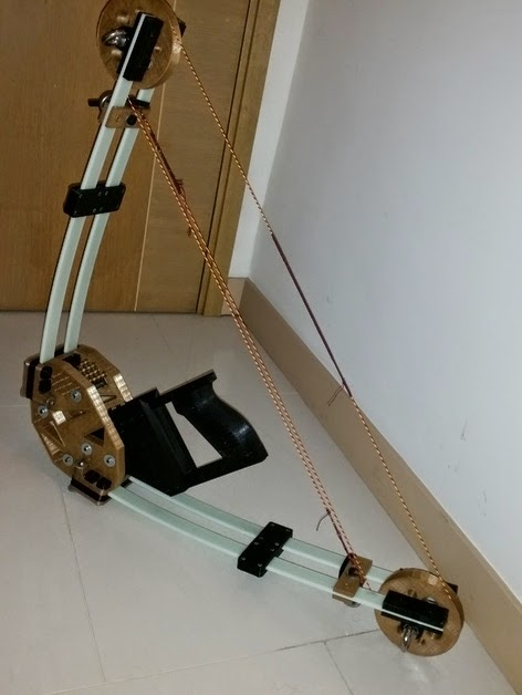 Diy 3d Printing Vinci Diy Compound Bow With 3d Printed Parts