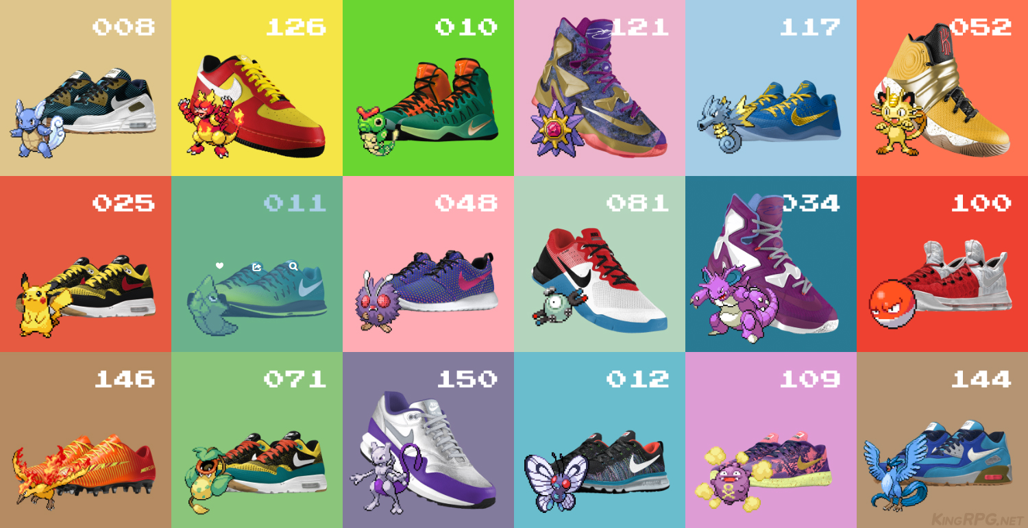 Nike Pokemon shoes