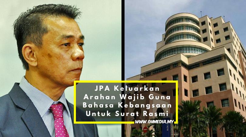 Hanya Bahasa Melayu Dibenarkan Dalam Semua Urusan Rasmi ...