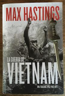 Portada del libro La guerra de Vietnam, de Max Hastings