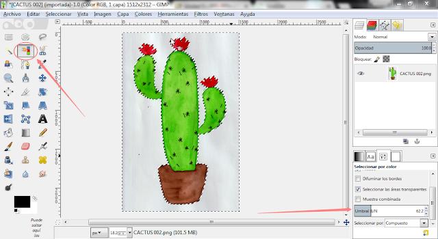 como-digitalizar-dibujos-en-gimp
