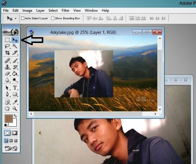 20 Ide Cara Menggabungkan Foto Dengan Background Photoshop Cosy Gallery