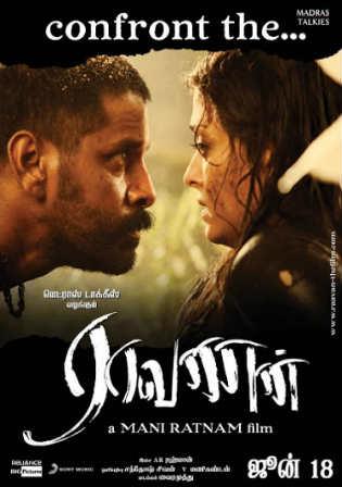 Raavan 2010 DVDRip 900MB Full Hindi Movie Download x264 Watch Online Free bolly4u