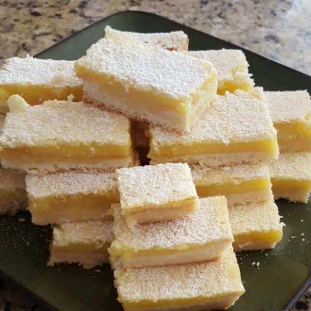 وصفة ألواح الليمون / Lemon Bars Recipe