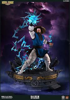 Raiden 1/4 de Mortal Kombat - Pop Culture Shock Collectible