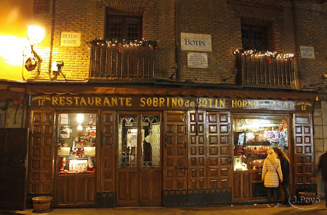 Restaurante Sobrino, Madrid