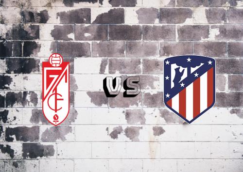 Granada vs Atlético Madrid  Resumen