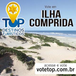 Ilha Comprida concorre ao título Top Destinos Turísticos