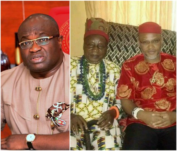 Why I can't dethrone Nnamdi Kanu's father – Governor Ikpeazu