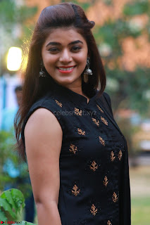 Actress Yamini Bhaskar in a Tight Black Sleeveless Dress ~ Exclusive