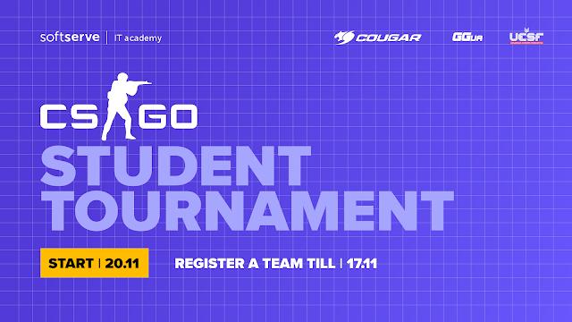 Всеукраїнський турнір з CS:GO від SoftServe та Федерації Кіберспорту України