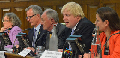 London Mayoral Candidiates at the Sustrans debate