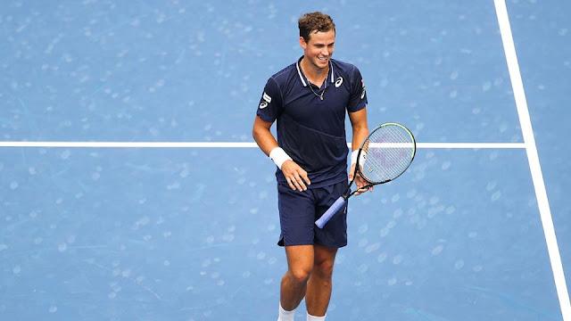 Em duelo caseiro contra Milos Raonic, Vasek Pospisil vence e avança à terceira rodada do US Open de Tênis