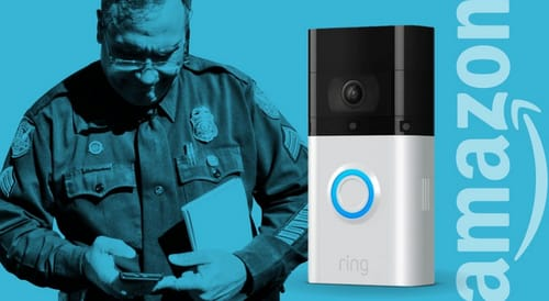 Ring cooperates with most of the US police departments