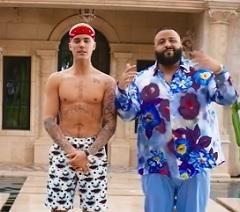 DJ Khaled faz parceria de sucesso com Justin Bieber