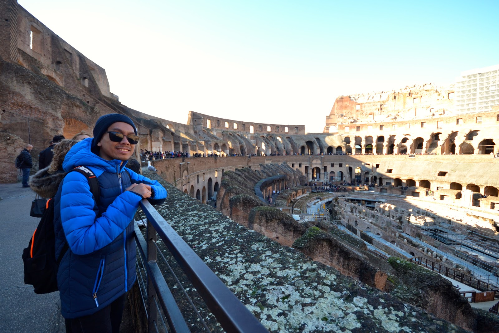 marxtermind inside the Colosseum