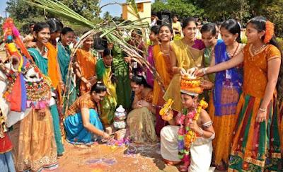 Bhogi, Sankranthi, kanuma festivals