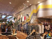 projeto interior loja expositor central zinzane barrashopping