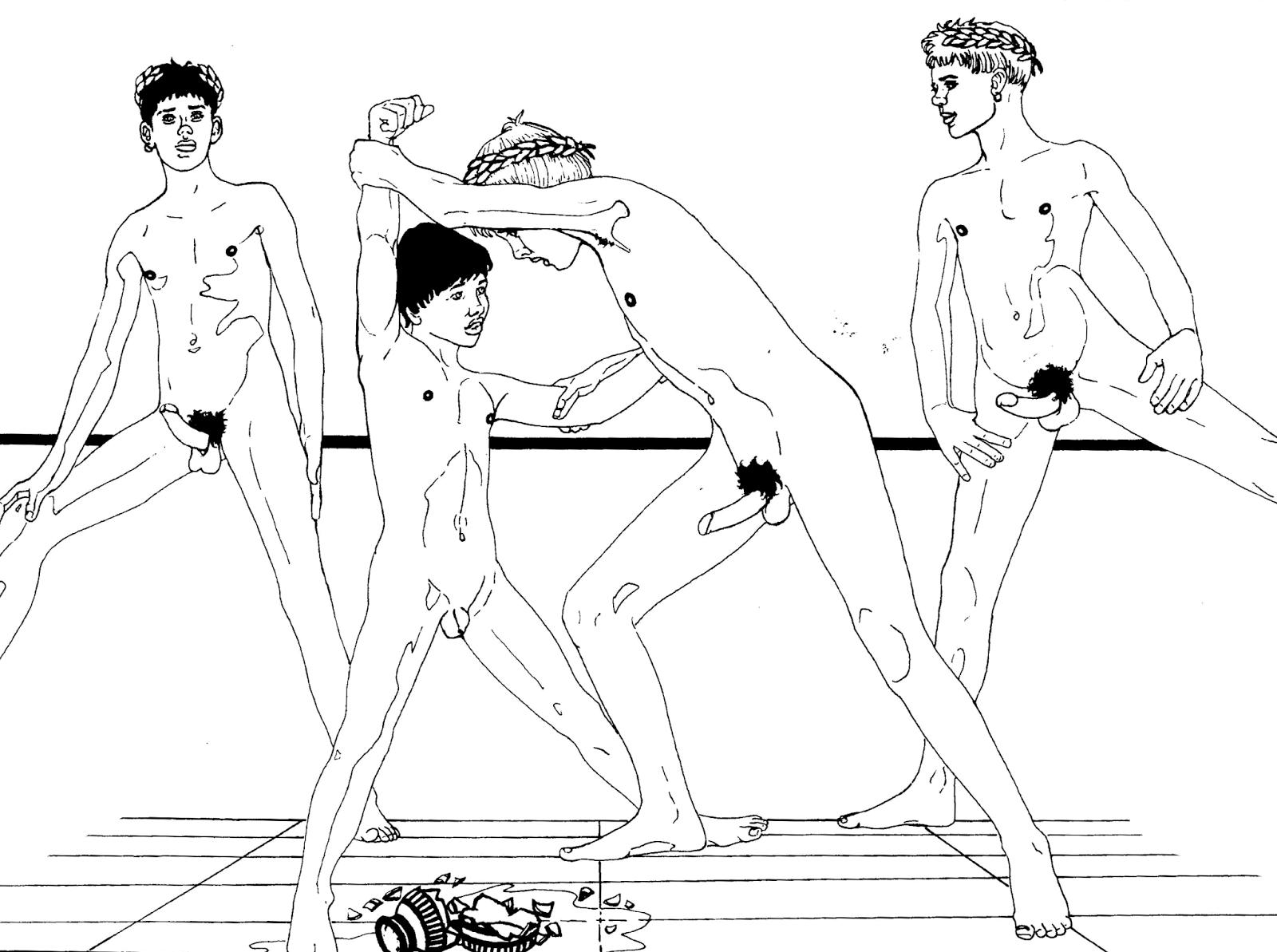 Teen Boys Naked Wrestling