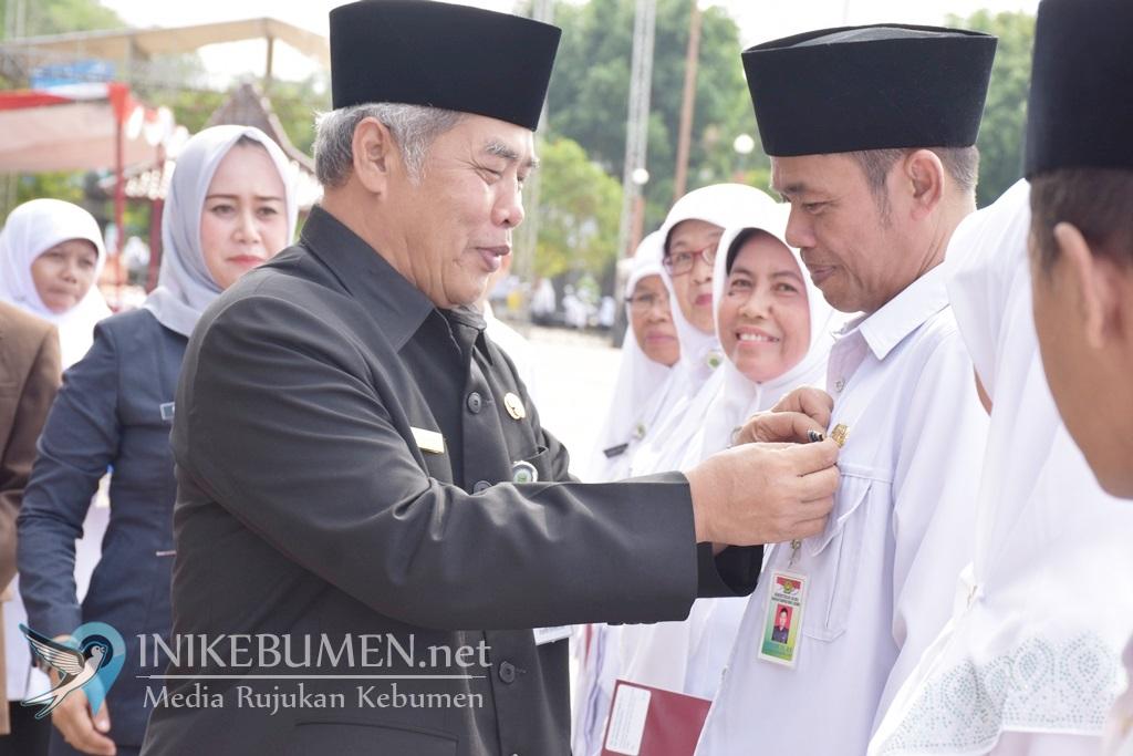 Jadi Irup HAB Kementerian Agama, Bupati Kebumen Bacakan Sambutan Tertulis Menteri Agama