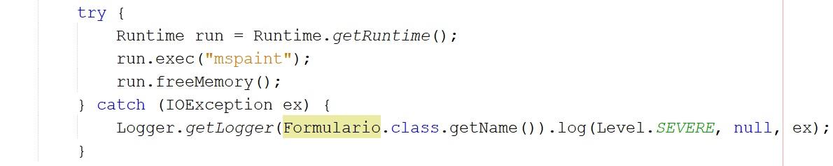 Ejecutar programas externos con Java