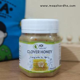 pengalaman konsumsi clover honey