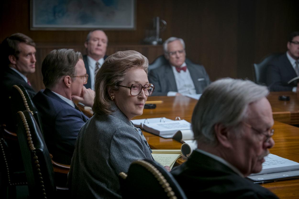 LOS ARCHIVOS DEL PENTÁGONO - Meryl Streep