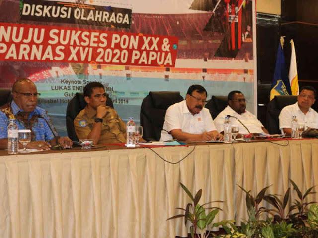 90 Persen APBD Provinsi Papua Dialokasikan Biayai PON XX
