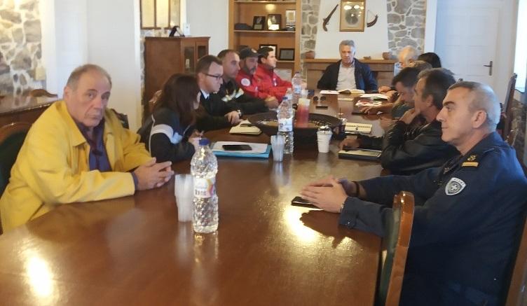 Συνεδρίασε το Συντονιστικό Τοπικό Όργανο Πολιτικής Προστασίας του Δήμου Ερμιονιδας