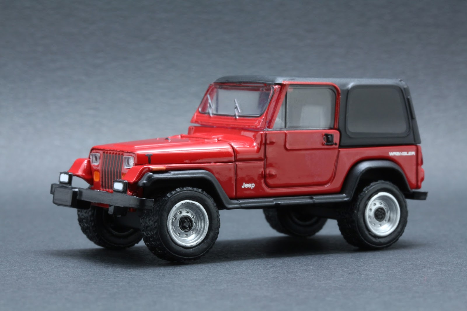 diecast hobbist 1992 jeep wrangler hard top yj. Cars Review. Best American Auto & Cars Review