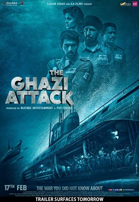The Ghazi Attack Full Movie Download, The Ghazi Attack (2017) Telugu Full Movie Download HD Free,