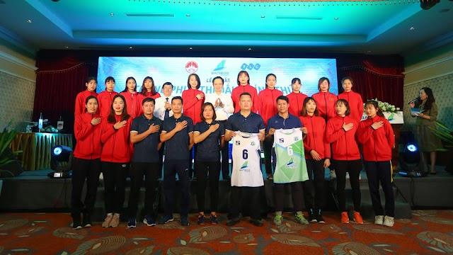 Hãng hàng không Bamboo Airways tài trợ bóng chuyền nữ Vĩnh Phúc