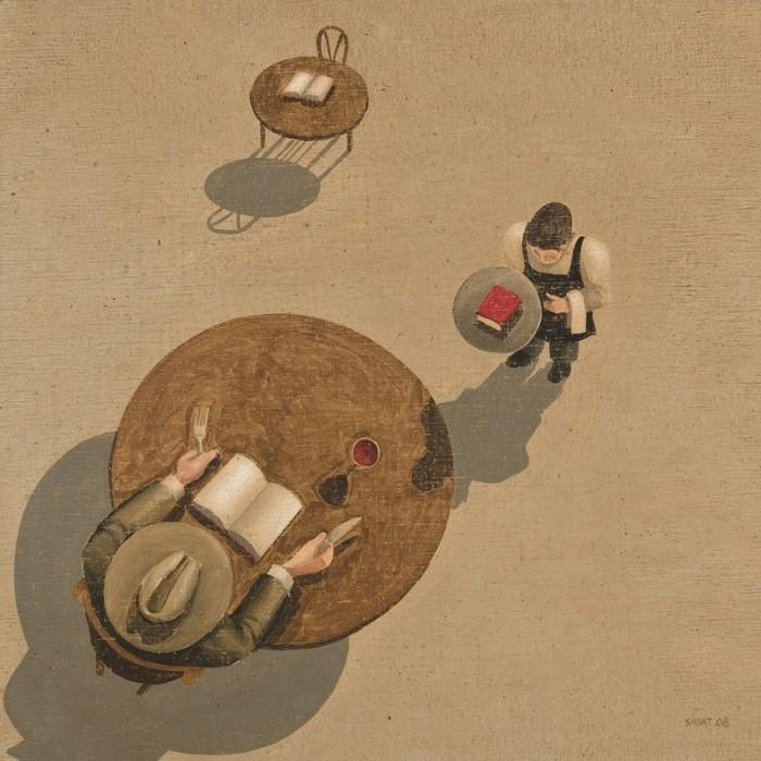 Нежность и ирония. Jordi Sabat