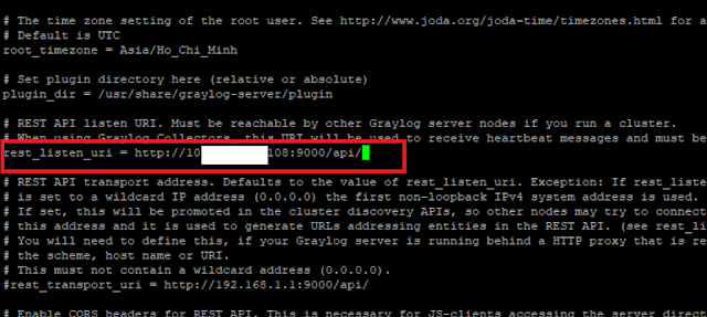 Hướng dẫn cấu hình API GayLog
