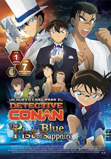Detective Conan: El Puño de Zafiro Azul.